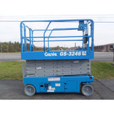 2008 GENIE GS3246 SCISSOR LIFT 32' REACH ELECTRIC SMOOTH CUSHION TIRES 483 HOURS STOCK # BF9119559-PAB