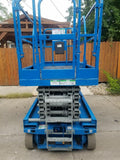 2007 GENIE GS3246 SCISSOR LIFT 32' REACH ELECTRIC SMOOTH CUSHION TIRES 346 HOURS STOCK # BF974129-WIBIL