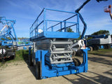 2011 GENIE GS5390RT SCISSOR LIFT 53' REACH DIESEL ROUGH TERRAIN 4WD 1498 HOURS STOCK # BF9234529-WIB
