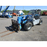 2011 GENIE GTH5519 5500 LB DIESEL TELESCOPIC FORKLIFT TELEHANDLER PNEUMATIC 4WD 1758 HOURS STOCK # BF9397559-499-BNYB