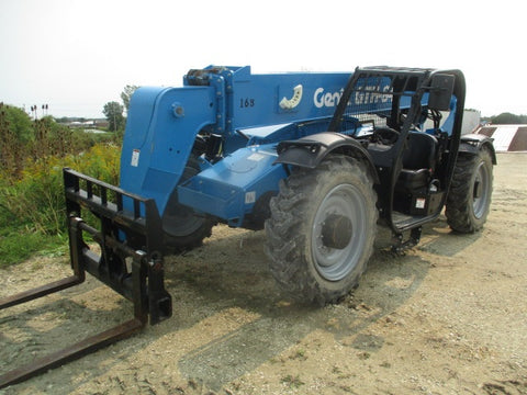 2019 GENIE GTH844 8000 LB DIESEL TELESCOPIC FORKLIFT TELEHANDLER PNEUMATIC 4WD AUXILIARY HYDRAULICS 180 HOURS STOCK # BF9715349-WIB - United Lift Used & New Forklift Telehandler Scissor Lift Boomlift
