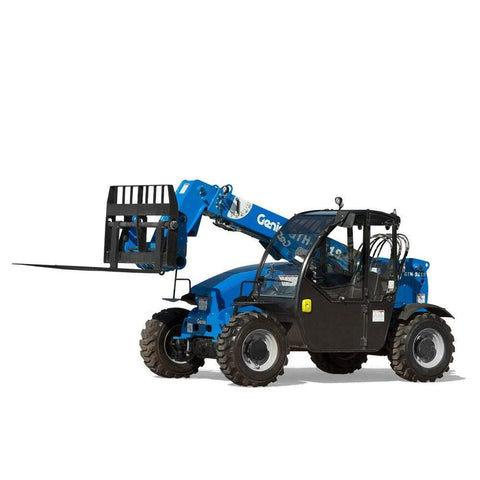 2020 GENIE GTH5519 5500 LB DIESEL TELESCOPIC FORKLIFT TELEHANDLER PNEUMATIC 4WD ENCLOSED CAB BRAND NEW STOCK # BF9612239-VAOH - United Lift Used & New Forklift Telehandler Scissor Lift Boomlift