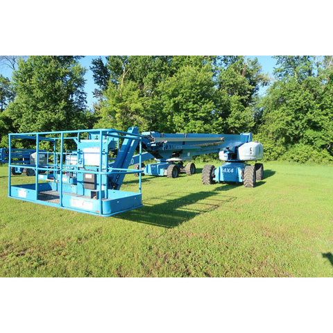 2007 GENIE S125 TELESCOPIC BOOM LIFT AERIAL LIFT 125' REACH DIESEL 4WD 1950 HOURS STOCK # BF18724-DPA