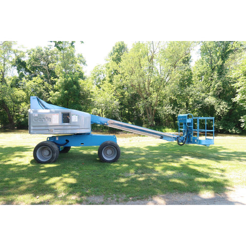 2007 GENIE S40 TELESCOPIC BOOM LIFT AERIAL LIFT 40' REACH DIESEL 4WD 3949 HOURS STOCK # BF30659-DPA
