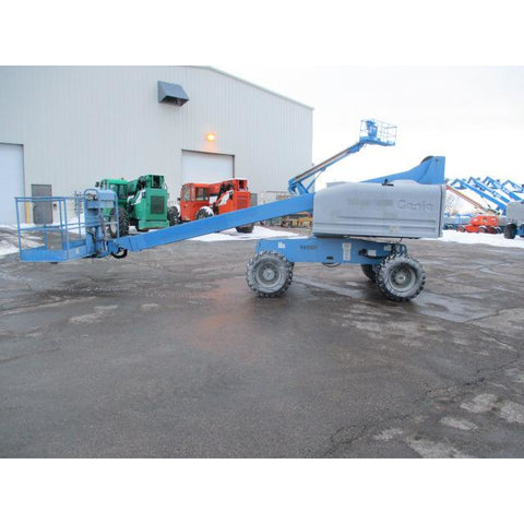 2007 GENIE S40 TELESCOPIC BOOM LIFT AERIAL LIFT 40' REACH DIESEL 4WD 1817 HOURS STOCK # BF9182689-249-WIB