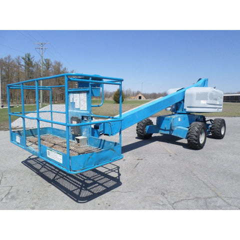 2005 GENIE S40 TELESCOPIC BOOM LIFT AERIAL LIFT 40' REACH DIESEL 4WD 4283 HOURS STOCK # BF9169129-PAB - Buffalo Forklift LLC