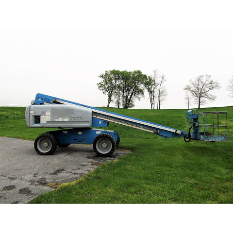 2008 GENIE S60 TELESCOPIC BOOM LIFT AERIAL LIFT 60' REACH DIESEL 4WD 2722 HOURS STOCK # BF18753-DPA