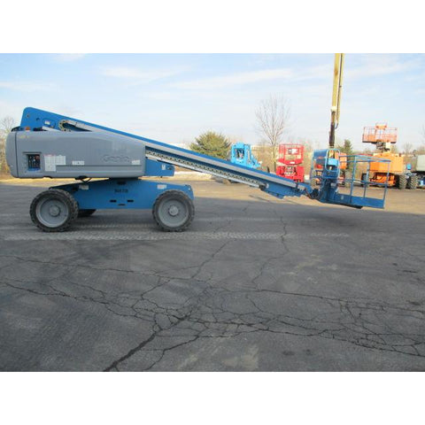 2006 GENIE S60 TELESCOPIC BOOM LIFT AERIAL LIFT 60' REACH DUAL FUEL 4WD 2890 HOURS STOCK # BF9212969-299-BUF - Buffalo Forklift LLC