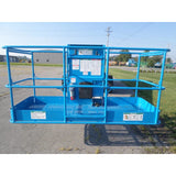 2011 GENIE S60X TELESCOPIC BOOM LIFT AERIAL LIFT 60' REACH DIESEL 4WD 3315 HOURS STOCK # BF395829-499-PAB