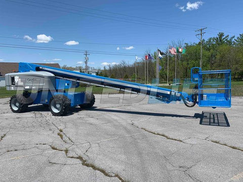 2013 GENIE S80X TELESCOPIC BOOM LIFT AERIAL LIFT 80' REACH DIESEL 4WD 4056 HOURS STOCK # BF9378319-PAB - United Lift Used & New Forklift Telehandler Scissor Lift Boomlift