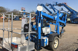 2009 GENIE TZ34/20 TOWABLE BOOM LIFT AERIAL LIFT 35' REACH 120 HOURS STOCK # BF9151059-MRMI - United Lift Used & New Forklift Telehandler Scissor Lift Boomlift