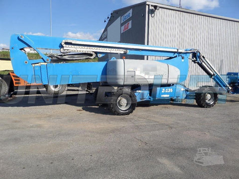 2012 GENIE Z135/70 600 LBS DIESEL ARTICULATING BOOM LIFT 135′ REACH 4WD 2804 HOURS STOCK # BF9101889-VAOH
