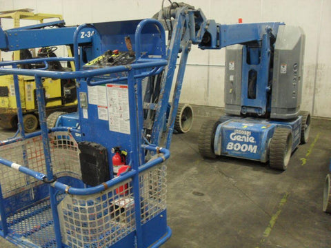 2010 GENIE Z30/20NRJ ARTICULATING BOOM LIFT AERIAL LIFT 30' REACH ELECTRIC 553 HOURS STOCK # BF9154529-WIBTN