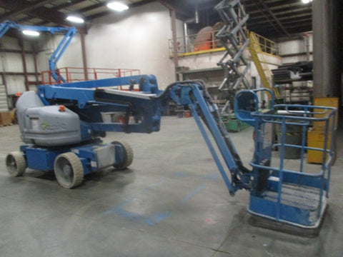 2010 GENIE Z40/23NRJ 500 LBS ELECTRIC ARTICULATING BOOM LIFT CUSHION 897 HOURS STOCK # BF9169549-WIB