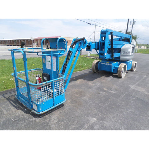 2007 GENIE Z40/23NRJ ARTICULATING BOOM LIFT AERIAL LIFT WITH JIB ARM 40' REACH ELECTRIC 605 HOURS STOCK # BF9216279-PAB