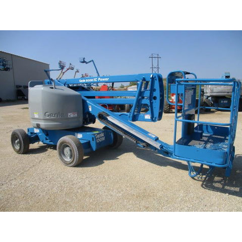 2006 GENIE Z45/25 IC ARTICULATING BOOM LIFT AERIAL LIFT 45' REACH DUAL FUEL 2WD 1878 HOURS STOCK # BF9153549-249-WIB
