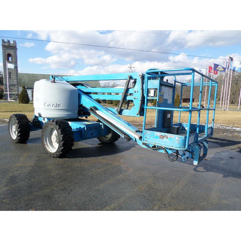 2005 GENIE Z45/25 IC ARTICULATING BOOM LIFT AERIAL LIFT 45' REACH DUAL FUEL 4WD STOCK # BF9186869-PAB