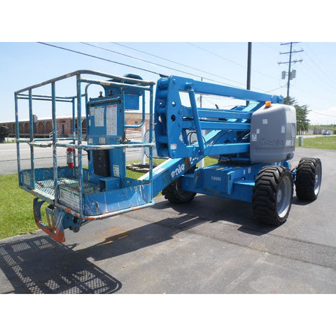 2007 GENIE Z45/25 ARTICULATING BOOM LIFT AERIAL LIFT WITH JIB ARM 45' REACH DIESEL 4WD 3291 HOURS STOCK # BF9248779-PAB