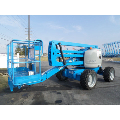 2007 GENIE Z45/25 ARTICULATING BOOM LIFT AERIAL LIFT 45' REACH DIESEL 4WD 2927 HOURS STOCK # BF9248979-PAB