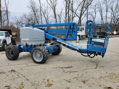 2007 GENIE Z45/25RT ARTICULATING BOOM LIFT AERIAL LIFT 45' REACH DUAL FUEL 4WD 1850 HOURS STOCK # BF9198539-WIBOH