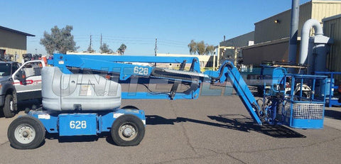 2012 GENIE Z45/25J DC ARTICULATING BOOM LIFT AERIAL LIFT 45' REACH ELECTRIC 328 HOURS STOCK # BF9214529-WIBMI