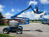 2006 GENIE Z45/25J IC ARTICULATING BOOM LIFT AERIAL LIFT WITH JIB ARM 45' REACH DIESEL 4WD 3270 HOURS STOCK # BF9203249-BUF