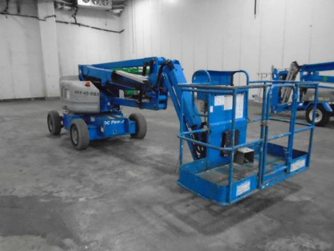 2011 GENIE Z45/25JDC ARTICULATING BOOM LIFT AERIAL LIFT WITH JIB ARM 45' REACH 48 VOLT ELECTRIC 860 HOURS STOCK # BF9174539-WIBTN - United Lift Used & New Forklift Telehandler Scissor Lift Boomlift
