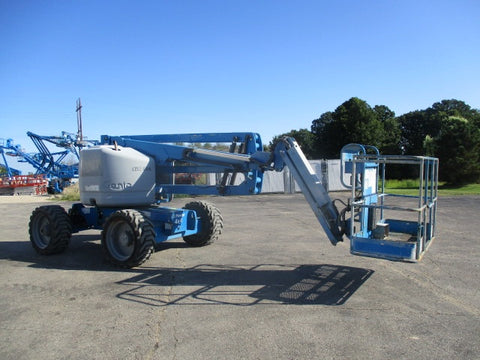 2011 GENIE Z45/25J RT ARTICULATING BOOM LIFT AERIAL LIFT 45' REACH DUAL FUEL 4WD 1650 HOURS STOCK # BF9238539-WIB