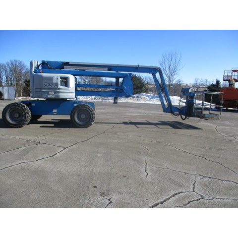 2007 GENIE Z60/34 ARTICULATING BOOM LIFT AERIAL LIFT 60' REACH DUAL FUEL 3600 HOURS STOCK # BF9264539-349-WIB