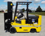 "2003 GREGORY RCC8EX 8000 LB ELECTRIC FORKLIFT CUSHION 87/186"" 3 STAGE MAST EXPLOSION PROOF SIDE SHIFTER 4734 HOURS STOCK # BF9346679-BUF - United Lift Used & New Forklift Telehandler Scissor Lift Boomlift"