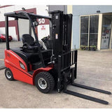 2020 HANGCHA A-25 5000 LB FORKLIFT ELECTRIC PNEUMATIC 86/185 3 STAGE MAST SIDE SHIFTER STOCK # BF921629-319-BUF