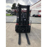 2019 HANGCHA A-20 4000 LB FORKLIFT ELECTRIC PNEUMATIC 86/171 3 STAGE MAST SIDE SHIFTER STOCK # BF9266259-359-BUF