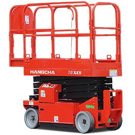 BRAND NEW 2018 HANGCHA 78-XEII SCISSOR LIFT 500 LB 26' REACH 24 VOLT ELECTRIC STOCK # BF9156149-229-BUF