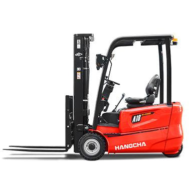 BRAND NEW 2018 HANGCHA AC6-S20 4000 LB FORKLIFT ELECTRIC 3 WHEEL CUSHION 80/185 3 STAGE MAST SIDE SHIFTER STOCK # BF9199889-279-BUF