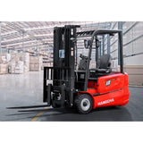 BRAND NEW 2018 HANGCHA A-18 3500 LB FORKLIFT ELECTRIC 3 WHEEL CUSHION 80/185 3 STAGE MAST SIDE SHIFTER STOCK # BF9166289-249-BUF **OWN FOR $480 PER MONTH**