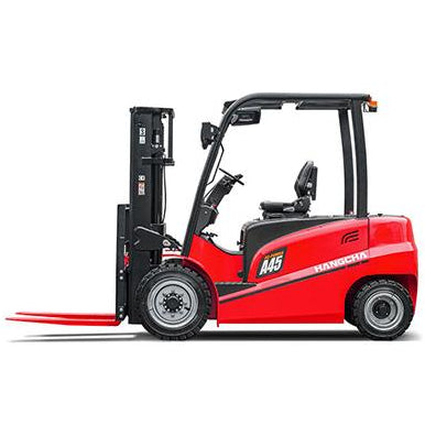 BRAND NEW 2018 HANGCHA CPD30-AC4 6000 LB FORKLIFT ELECTRIC PNEUMATIC 85/185 3 STAGE MAST SIDE SHIFTER STOCK # BF9225179-349-BUF