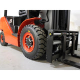 BRAND NEW 2018 HANGCHA CPCD25-XW33F 5000 LB FORKLIFT DIESEL PNEUMATIC 86/185 3 STAGE MAST SIDE SHIFTER STOCK # BF9207139-299-BUF - united-lift-equipment