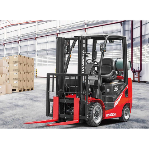 BRAND NEW 2018 HANGCHA IC-50 5000 LB FORKLIFT LP GAS CUSHION 85/185 3 STAGE MAST SIDE SHIFTER STOCK # BF9169599-249-BUF **OWN FOR $480 PER MONTH**