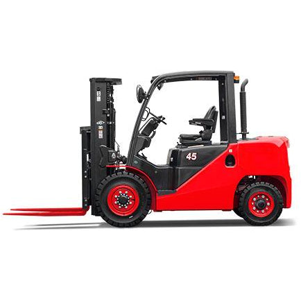 BRAND NEW 2020 HANGCHA XF-40 8000 LB FORKLIFT DIESEL PNEUMATIC 89/189 3 STAGE MAST SIDE SHIFTER STOCK # BF9346189-BUF - United Lift Used & New Forklift Telehandler Scissor Lift Boomlift