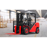 BRAND NEW 2019 HANGCHA XF-40 8000 LB FORKLIFT DIESEL PNEUMATIC 89/189 3 STAGE MAST SIDE SHIFTER STOCK # BF9346189-BUF