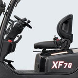 BRAND NEW 2018 HANGCHA XF-70 15500 LB FORKLIFT DIESEL PNEUMATIC 98/174 3 STAGE MAST SIDE SHIFTER STOCK # BF9386169-499-BUF