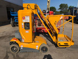 2012 HAULOTTE STAR 26J BOOM LIFT WITH JIB 26' REACH ELECTRIC 2WD 250 HOURS STOCK # BF9155329-NLIL
