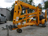 2016 HAULOTTE 4527A TOWABLE BOOM LIFT WITH JIB 45' REACH ELECTRIC 2WD STOCK # BF9217539-CEIL