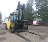 "2011 CATERPILLAR P300 30000 LB DIESEL FORKLIFT PNEUMATIC 155"" 2 STAGE MAST MAST DUAL TIRES ENCLOSED CAB 5188 HOURS STOCK # BF9651189-EBOR - United Lift Used & New Forklift Telehandler Scissor Lift Boomlift"