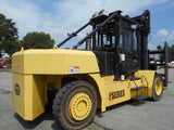 "2012 HOIST P550 55000 LB DIESEL FORKLIFT PNEUMATIC ENCLOSED HEATED & A/C CAB 157/144"" 2 STAGE MAST SIDE SHIFTING FORK POSITIONER DUAL TIRES 4825 HOURS STOCK # BF91599859-DIEB"
