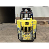 2011 HOIST F220 22000 LB LP GAS FORKLIFT CUSHION 121/126 2 STAGE MAST SIDE SHIFTING FORK POSITIONER 7095 HOURS STOCK # BF9876759-1079-OWOHB