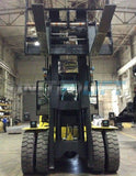 "2019 HOIST P550 55000 LB DIESEL FORKLIFT PNEUMATIC ENCLOSED HEATED CAB 154"" 2 STAGE MAST SIDE SHIFTING FORK POSITIONER DUAL TIRES 20 HOURS STOCK # BF92752219-HMHIN - United Lift Used & New Forklift Telehandler Scissor Lift Boomlift"
