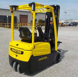 "2014 HYSTER J40XNT 4000 LB 48 VOLT ELECTRIC FORKLIFT CUSHION 88/198"" 3 STAGE MAST SIDE SHIFTER 2872 HOURS STOCK # BF9132339-INB - United Lift Used & New Forklift Telehandler Scissor Lift Boomlift"