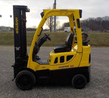 "2010 HYSTER S50FT 5000 LB LP GAS FORKLIFT CUSHION 86/187"" 3 STAGE MAST SIDE SHIFTER 2987 HOURS STOCK # BF9121149-INB - United Lift Used & New Forklift Telehandler Scissor Lift Boomlift"