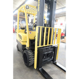 2006 HYSTER S60FT 6000 LB LP GAS FORKLIFT CUSHION 84/173 3 STAGE MAST 8754 HOURS STOCK # BF02763-DPA